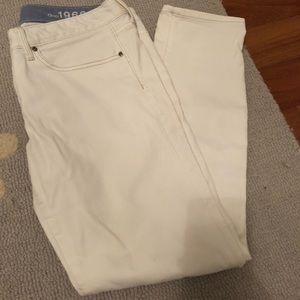 Gap White jeans!